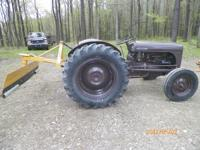 12 volt, Three point hitch.Drawbar.Pto system. Four