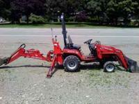 Massey Ferguson GC2310 sub-compact tractor. 23 HP 3