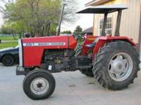 Massey Ferguson 261, canopy top, good rubber, Diesel