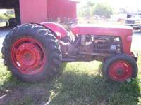 Everything works. 3pt. Good tires. Nice Tractor. Live