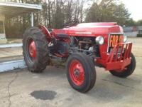 Massey Ferguson 35 Special. This tractor has been