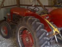 1960's Massey Ferguson Tractor $2950.00 or obo Has New