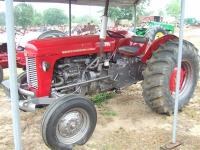 Here's a great little Massey Ferguson 35 tractor. It