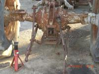 Parting out Massey Ferguson 65 Diesel tractor. 3pt lift