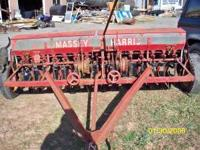 older massey ferguson grain drill good shape all