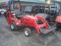 Massey Ferguson GC2610 Only 277 hours! Here is a chance