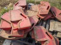 We have 30 Massey Ferguson Suitcase Weights at $40 a