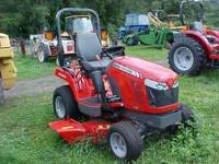 MASSEY FERGUSON GC2400 4WD DIESEL COMPACT TRACTOR,