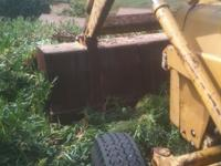 massey fergusson front end loader and box gannon and