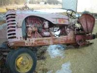 SELLING MASSEY -HARRIS LESS REARTIRES ,POWER-STEERING