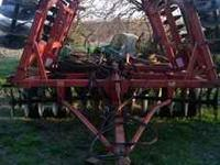 "For Sale 22 ft MF Disk. Disk Blades are 21"" or better"