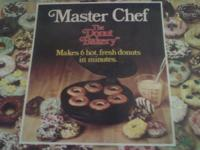 MASTER CHEF DONUT BAKERY DONUT MAKER-UNUSED WITH