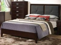 Incredible King Platform Bed! Readily available in