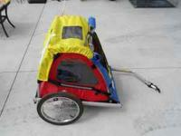 Almost new Master Cycle Bike Trailer. Great for 2