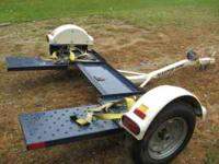 Up for auction is a used Master Tow car dolly. This