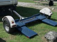 2009 MASTER TOW Car Dolly with ELECTRIC DISC BRAKES.