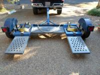 MASTER TOW DOLLY MODEL 80T NEW TIRES & SAFETY CHAINS