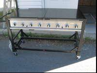 This is for a double tank grill made by Master Chef,