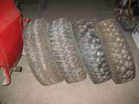 For sale is one set of Mastercraft Courser C/T tires in