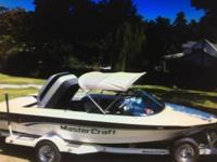 Excellent Condition 1998 Mastercraft 190 All original