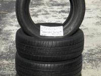 SET OF 4 USED TIRE Mastercraft Touring LSR 2056016