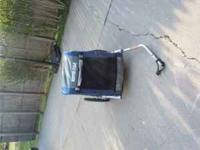Like New Bicycle trailer. Still have the original box,
