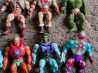 Different He-mans,Skeletors and other figures. Even