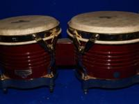 Very nice set of Matador bongo drums. They are very