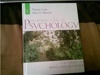 I am selling my MATC Intro to Psychology 11th ED.book..
