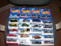 Here is a group of miscellaneous hot wheels. There are
