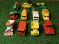 A collection of 1960's Lesney Matchbox trucks and