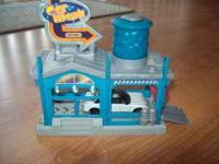 Car Wash set comes with a matchbox limo. Call  if you