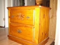 Matching Bedside Table 2- large drawers, matching bed