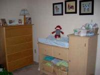 No Scam. This crib and changing table is awesome. In