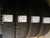 I have a great matching set of utilized tires in