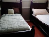 2 Matching kids single beds with really good
