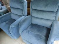 Lovely Matching LazBoy Swivel Recliner Rockers in