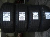 I have a wonderful matching set of used tires in