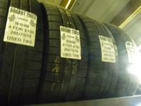 I have a great matching set of used tires in Goodyear
