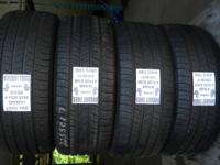I have 5 coordinating collections of utilized tires in