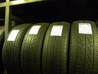 I have several great matching sets of used tires in