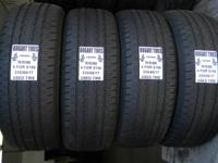 I have 3 matching collections of used tires in Goodyear