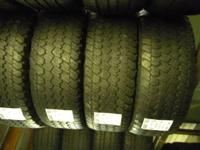 I have several matching sets of used tires in 265/70/17