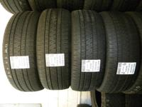 I have many matching sets of made use of tires with