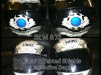 Nice Name brand Shoei helmets Orig. $1100+ Asking $550