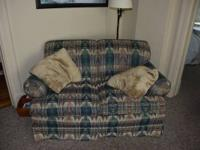 Great matching love seat and sofa.  In overall great