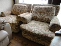 $75 each or $140 for both ~ Matching Stuffed Chairs.