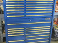 Matco Top Chest # MB1456B 1993 and Matco Rollaway #