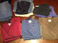 Maternity Lot  3 Size Medium Motherhood Maternity Tees