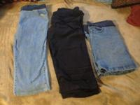Lot of Maternity Clothes: 21 pieces: 1 skirt, 1 pair of